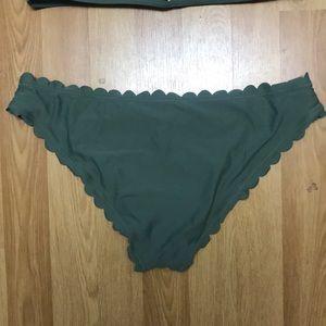 SHEIN Swim - Shein green swim suit